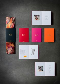 cocktail menu book for miss kō by Yeji Yun, via Behance