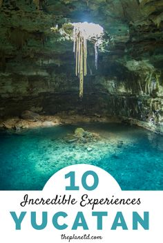 The Yucatan Peninsula sits along Mexico's east coast and separates the Caribbean Sea from the Gulf of Mexico, making it an absolute paradise for travelers. From cenote diving to mayan ruins, these are the best things to do in Yucatan, Mexico. | Blog by th