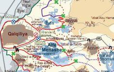 The Wall Around Qalqilya