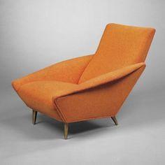 Distex lounge chair - Gio Ponti http://decdesignecasa.blogspot.it/