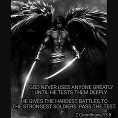 """""""Examine yourselves to see if your faith is genuine. Test yourselves. Surely you know that Jesus Christ is among you; if not, you have failed the test of genuine faith."""" (2 Cor 13:5 NLT)  """"Prove all things; hold fast that which is good."""" (1 Thess 5:21 KJV)"""