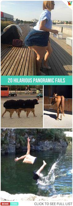 20 Hilarious Panoramic Fails #photos #panoramicfails #photography #epicfail #humor #fuunypics #funnypictures #bemethis