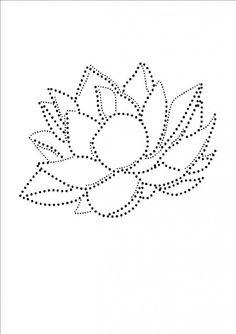 Lotus | Bloemen en Planten | glittermotifs