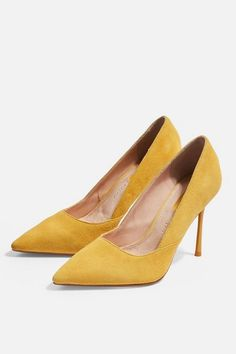 d86f8656f17 Dorothy Perkins · Products · Womens   Wide Fit Gigi Court Shoes - Mustard