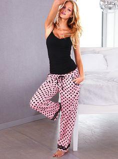 Victoria's Secret Sleep Seperates: The Flannel Sleep Pant & Cami