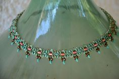 Turquoise unique one of a kind necklace!
