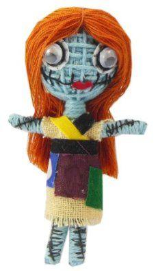 Sally nightmare before christmas Voodoo String Doll Keychain NaLuck. $1.99