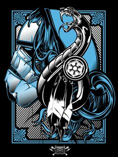 Star Wars / Hydro74 / 2014 https://www.behance.net/gallery/20358747/Star-Wars-Hydro74 http://www.reach.tv/creatives/hydro74/star-wars