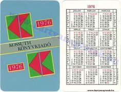 1976 - 1976_0054 - Régi magyar kártyanaptárak