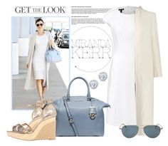 """Airport Style: Miranda Kerr"" by piaspieler on Polyvore featuring Mode, ESCADA, The Row, Sebastian Professional, Michael Kors, Lanvin, Oliver Peoples und Kobelli"