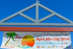 The Sugar Sand Festival runs from April 4th - 13th.