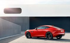 The Beauty / The Beast 2015 Jaguar F-type V6 S coupe