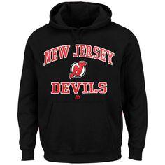 New Jersey Devils Majestic Heart & Soul Hoodie - Black - $54.99