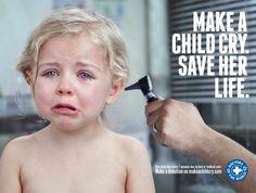Médecins du monde - makeachildcry.com #jetudielacom