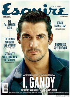 David Gandy for Esquire Singapore September 2014