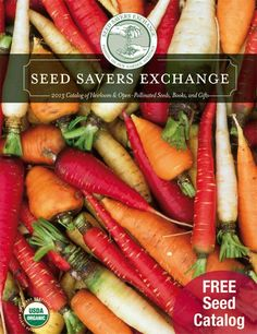 Seed Savers Exchange 2013: Passing on our Garden Heritage  ...Just came in the mail today!