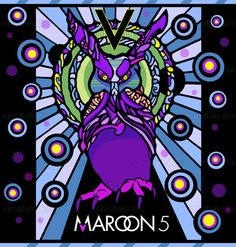 V Album Cover Maroon 5 ... .com | Maroon 5-Maps | Pinterest | Maroon 5, Album Covers and Album
