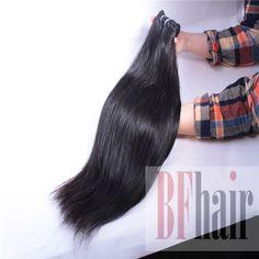 BF Hair Top Quality Brazilian Virgin Hair Straight 4 pcs 7A Grade Virgin Brazilian Straight Hair Bundles - BF Hair