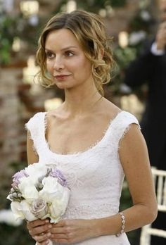 Kitty's wedding dress from Brothers & Sisters. LOVE!!! modest & so pretty!
