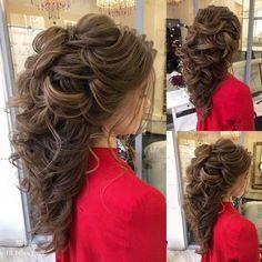 Long Wedding Hairstyles from Elstile /  / http://www.himisspuff.com/long-wedding-hairstyles-from-elstile/16/