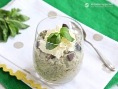 Explore Our Latest PostsMint & Chocolate Chip Chia Pudding Will not be adding the artificial sweetener, it doesn't need it with the coconut and almond milk Low Carb Sweets, Low Carb Desserts, Raw Food Recipes, Low Carb Recipes, Dessert Recipes, Cooking Recipes, Healthy Recipes, Chia Recipe, Mint Chocolate Chips