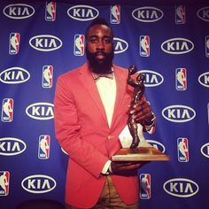 James Harden Nantucket Red Blazer