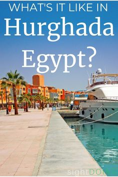 Hurghada sits on the Red Sea, about 4 hours from Luxor or 5 hours from Cairo Egypt. It's paradise for scuba divers, but what about everyone else? On top of diving, you'll find a beach, snorkeling, fancy resorts (for a cheap vacation!), and tours into the desert. This is tropical paradise and a fun option to add on after a busy city tour. Learn more about what it's like downtown and how to make the most of your trip. Weekend Getaways For Couples, Romantic Weekend Getaways, Egypt Travel, Africa Travel, Beach Vacations, Dream Vacations, Cairo City, Hurghada Egypt, Visit Egypt