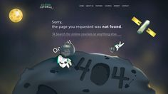50 of the most creative 404 pages on the web - Design School