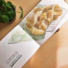 Carnet de croquis - Camille R. #aquarelle #watercolor #sketchbook