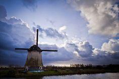 Windmill in Alkmaar - Netherlands