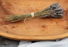Hardy herbs with woody stems like lavender, thyme and rosemary take well to drying. The best time to harvest herbs for drying is while they are budding, just before blooming. Using sharp scissors, trim the stems and bundle them with kitchen twine. Read more about preserving your herbal harvest at The Home Depot's Garden Club.