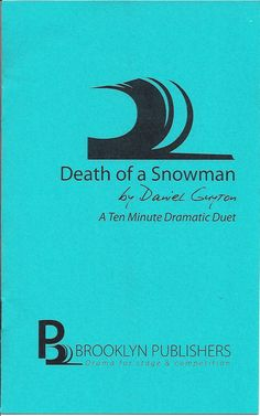 Death of a Snowman by Daniel Guyton (MFA '04)