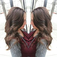 Rich brunette color by @stylistrandi