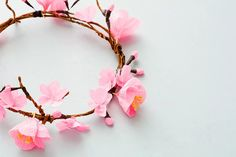 Spring is here, and floral is in. Follow this tutorial on how to make a cherry blossom flower crown. It's the perfect accessory for your next picnic or outdoor barbecue.