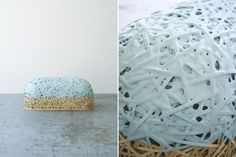 Jo Nagasaka, To The Bench, Ichiro: bamboo basket dipped in rubber coating