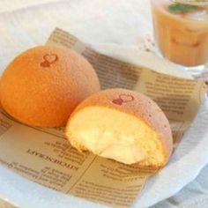 ふわふわカスタードケーキ【No.125】 Tart Recipes, Sweets Recipes, Cooking Recipes, Köstliche Desserts, Delicious Desserts, Yummy Food, Plated Desserts, Japanese Cake, Japanese Sweets