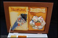 """Caixa de costura """"Pumpkin Autumn"""""""