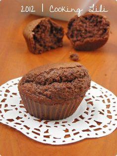 Petits gâteaux chocolat et noisette au son d'avoine