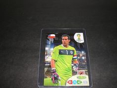 2014 #Adrenalyn XL #Road to #FIFA #World #Cup #Brazil #38 #Claudio #Bravo  #Soccer #cards