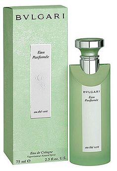 """Eau Parfumee au Thé Vert Bvlgari perfume - a fragrance for women and men Another case of """"love at first sniff"""". I had to try it when I read that Sharon Stone loved it so much that she could bathe in it. It didn't disappoint!"""