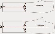 """Imagem: Google      Quer saber como se faz uma calça """"Boca de Sino"""", também chamada de """"Flare""""? Então, pegue seu material de modelagem e ..."""
