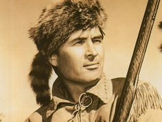 Fess Parker ~ TV Davy Crockett  I watched it in reruns but I remember it well