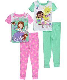 055019d40 Komar Little Girls  Doc Mcstuffins Pajama Set