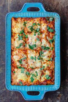 Baked Ziti Vegetarian, Vegetable Baked Ziti, Baked Vegetables, Vegetarian Recipes, Veggies, Vegan Meals, Delicious Recipes, Vegetarian Casserole, Tasty