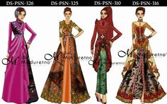Muslim Dress, Kebaya, Ikat, Women's Fashion, Fashion Design, Dresses, Vestidos, Fashion Women, Gowns