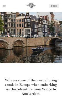 Simplon Orient Express, 1st Night, Venice, Amsterdam, Journey, Europe, Venice Italy
