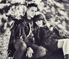 "Brandon Flowers and Jenny Lewis duet in ""Hard Enough"" love this picture!"