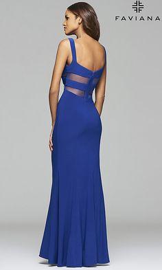 ff468193f56 Long V-Neck Formal Mermaid Dress V Neck Prom Dresses