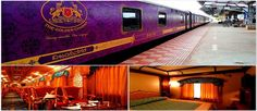 Golden Chariot luxury train is planning to offer customers wedding and honeymoon packages. Honeymoon Packages, Luxury Wedding, India, Train, Delhi India, Trains, Indian