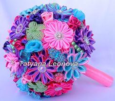 Wedding Accessories: bracelets boutonnieres pink lilac от LIKKO